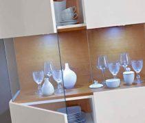Angel - Sala de Jantar Sophia - Cristaleira aberta