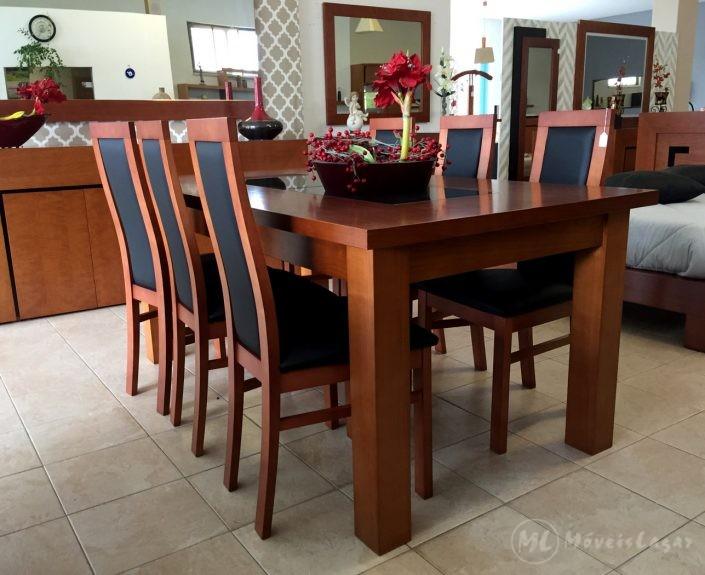 Sala de Jantar Linha L Mesa de Jantar